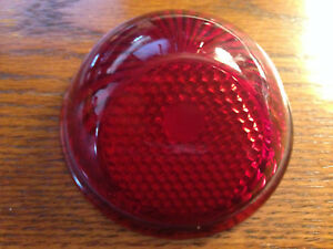 1937 1942 Vintage Willys Jeep Tail Light Lens