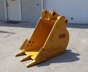 Unused Heavy Duty 24 Excavator Bucket 65mm Pin Cat 312