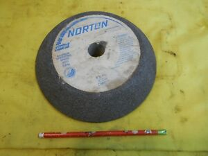 Norton Usa Grinding Wheel Tool Cutter Or Drill Grinder 8 X 1 1 2 X 1 Hole