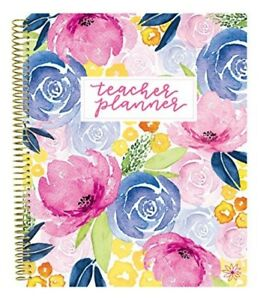 Bloom Daily Planners Undated Academic Year Teacher Planner Lesson Plan Book 9qu