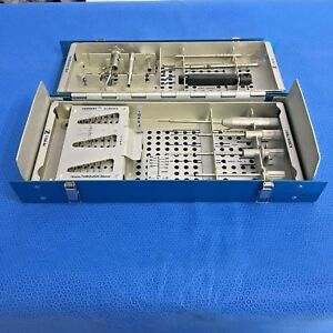 Zimmer 1154 12 Herbert Bone Screw Instrumentation Set Orthopedic Surgical