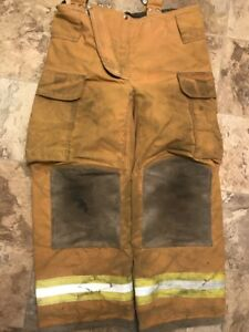 Lion Firefighter Turnout Gear Bunker Pants 34 X 30 Halloween Costume