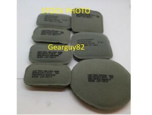 7 Piece Pad Set for ACHMICH Army Helmet 34