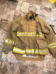 Morning Pride Firefighter Turnout Coat Size 48 36 Halloween Costume