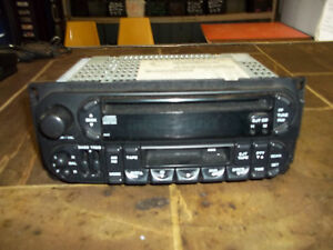 Am Fm Cassette Cd Radio Player Town Country Grand Cherokee Sebring Stratus