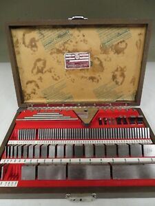 Starrett Ss81a1x 81 Piece Grade 2 Gage Block Set Nb2