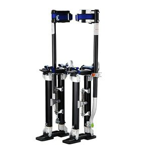 Pentagon Tool Professional 18 30 Black Drywall Stilts Highest Quality