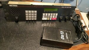 Zetron Model 4217b Audio Panel dispatch Console With Power Supply
