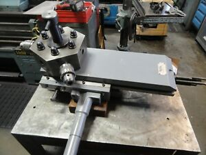 Royal Products 6 Position Turret Tailstock For 13 Lathe jet