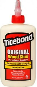 Solvent Resistant 8 Oz Original 12 Pack Interior Particleboard Leather Wood Glue