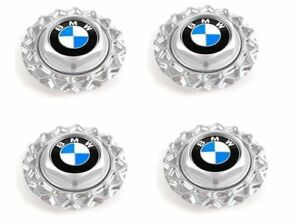 1984 1991 New 4x Bmw New Bbs 14 Wheel Center Hub Caps Styl 5 E30 318i 325e 325i