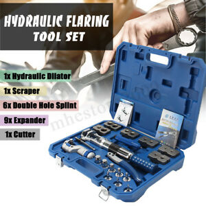 Wk 400 Universal Hydraulic Pipe Expander Kit Pipe Fuel Line Flaring Tools Steel