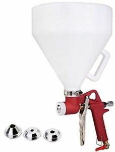 1 45 Gallon Air Hopper Spray Gun Paint Texture Tool Drywall Wall Ceiling Decking