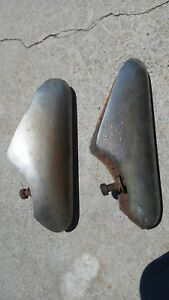 Ford Bumper Guards Moldings 1950 1949 Hot Rod Parts