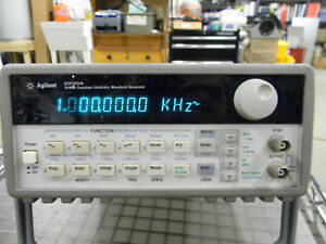 Agilent 33120a 15mhz Function Arbitrary Waveform Generator Tested G3