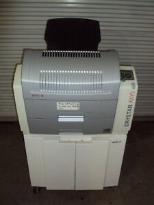 2010 Agfa Drystar Axys Laser Imager X ray Mammography Film Printer Processor