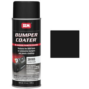 Sem 39103 Bumper Coater Flexible Black 12 Oz Aerosol