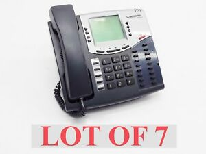 Lot 7 Inter tel Axxess 8660 Voip Ip Business Phone 550 8660 6 line Lcd Display