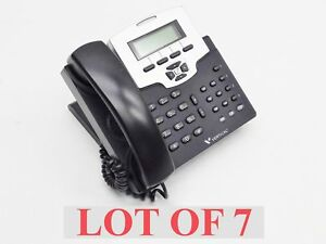 Lot 7 Vertical Communications 7504 00 Voip Black Business Phone Display System