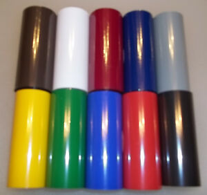 Kingsley Hot Stamp Stamping Machine Pigment Foil 3 X 95 6 Rolls Canister