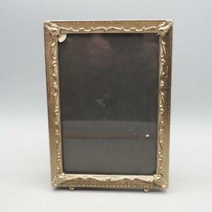 Vintage Metal Picture Frame Gold Tone 5 X7