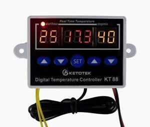 Digital Thermostat Timer On Off Temperature Controller Switch In12v 110v 220v