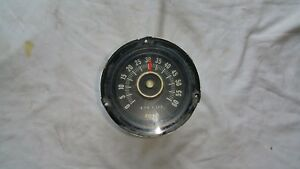 Ford Mustang 1965 Rally Pac 6000 Rpm 6 Cylinder Tachometer C5zz 17360 A