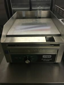 Waring Commercial Wgr140 120 volt Electric Countertop Griddle 14 inch Brand New