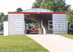 Durospan Steel 40x40x16 Metal Building Kit Farm Storage Structure Factory Direct
