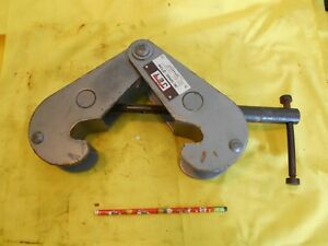 Jet Model Jbc 2 I Beam Clamp 2 Ton Rigging Pulling Chain Hoist Tool