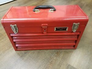 Blue Point Krw183 3 Drawer Tool Box Red