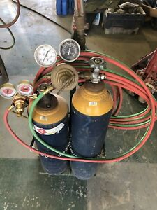 Victor Journeyman Oxy Acetylene Torch Kit