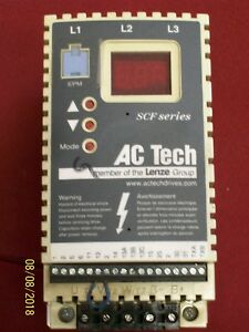 Ac Tech 1 5 Hp Variable Speed Ac Motor Drive Beige Sf415