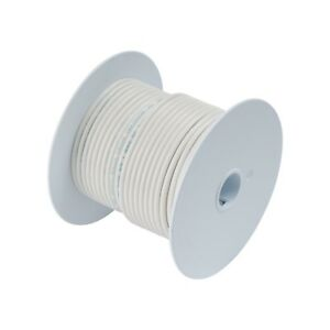 Calterm 52122 Electrical Primary Wire 100 Ft 12 Awg White 100 Ft New