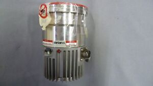 Varian Turbovac V60 Turbo Vacuum Pump 969 9001s002 Tested Working