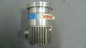 Varian V 70 Turbo Pump Model 969 9357 Tested Working