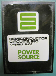 12 Volt Power Supply Semiconductor Circuits Ea 12d