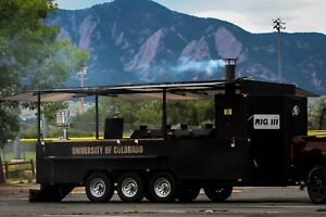 Badass Big Rig Iii Bbq Smoker Grill Trailer Custom Built By Bbq By Klose