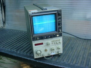 Hp 8559a Spectrum Analyzer In Hp 182t Display 01 To 21 Ghz