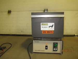 Barnstead thermolyne Benchtop Furnace Type 48000 F48025 70 120v 15a 1200 c Max