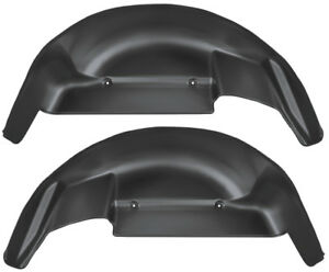 2006 2014 Ford F 150 Husky Liners Black Rear Wheel Well Guards Free Shipping