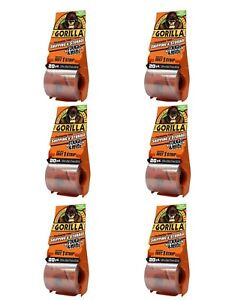 Gorilla 6020010 Packing Tape Tough Wide Multipack With Dispenser 2 83 New