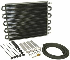 Derale 16 5 8 X 12 5 8 X 3 4 In Automatic Trans Fluid Cooler Kit P n 13105