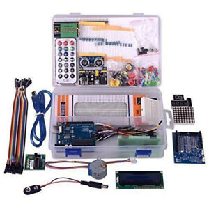 Ultimate U no Project Starter Kit For Arduino U no R3 Lcd1602 Servo Processing