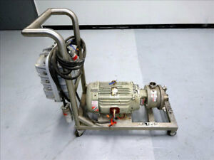 Fristam Fzx Series Sanitary Liquid ring Pump Model Fzx150 316 Stainless Steel