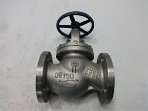 Wada Newco 3 150 Stainless Steel Globe Valve Fig 21fc8m4