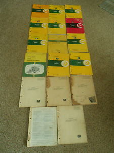 Lot Of 17 John Deere Operator s Manuals And Parts Catalogs