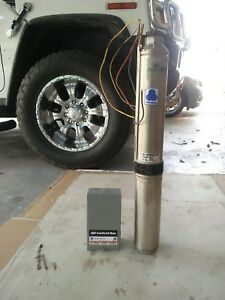 Franklin Electric 1 Hp Submerisble Water Well Pump And Control Box