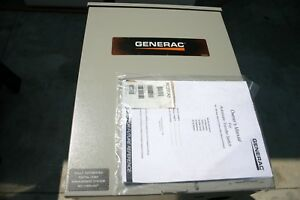 Make Offer On Generac Automatic Transfer Switch 240v 200a Rtsc200a3 Gray