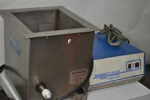 Branson Industrial Ultrasonic Cleaner Tank And Generator Work Great Reduced